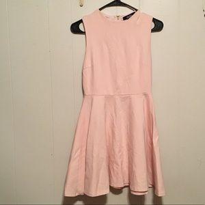 Lulus pink skater dress